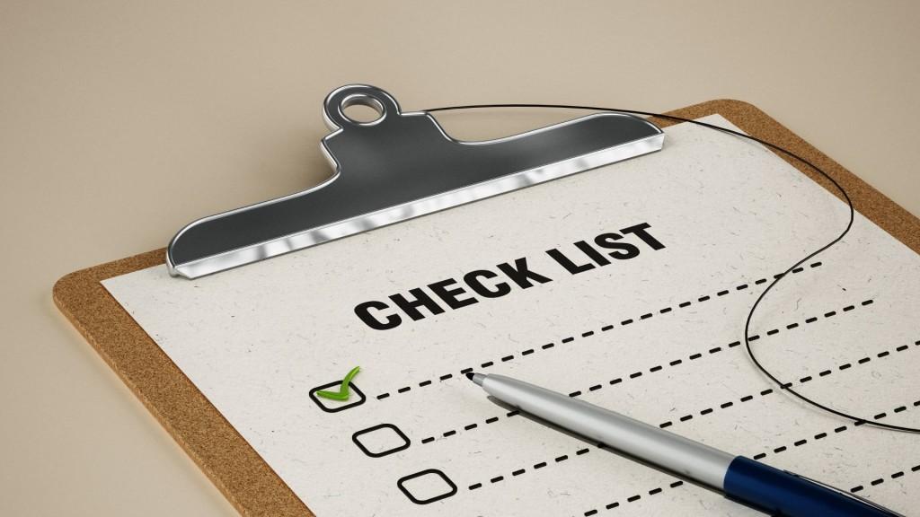 Checklist - TD Accounting